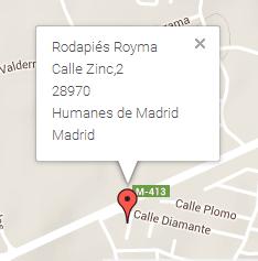 Rodapiés Royma